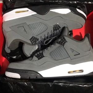 Air Jordan 4s Retro 'Cool Gray'